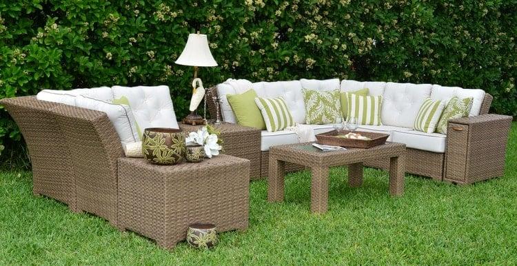 Watermark Living's outdoor sofa set
