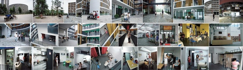 These are various photos from the residents of the collective housing.
