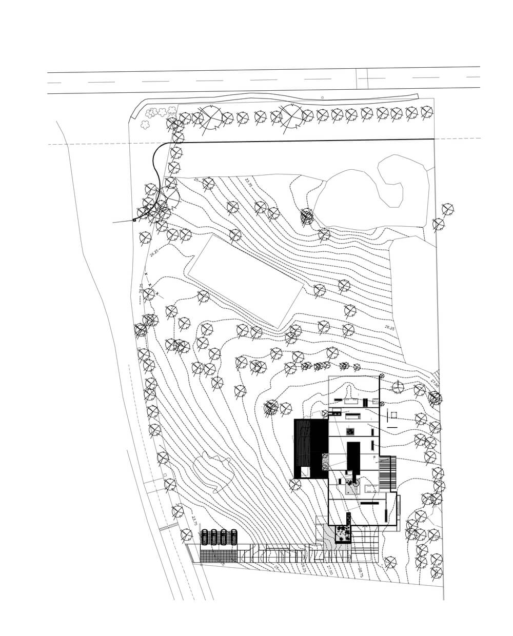 This is an illustration of the house site map.