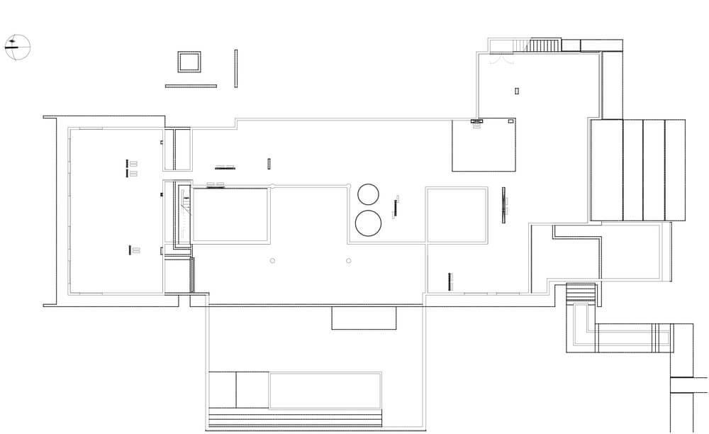 This is an illustration of the house floor plan.