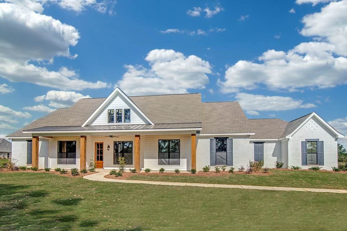 4-Bedroom Single-Story Country Home with Open Living Space