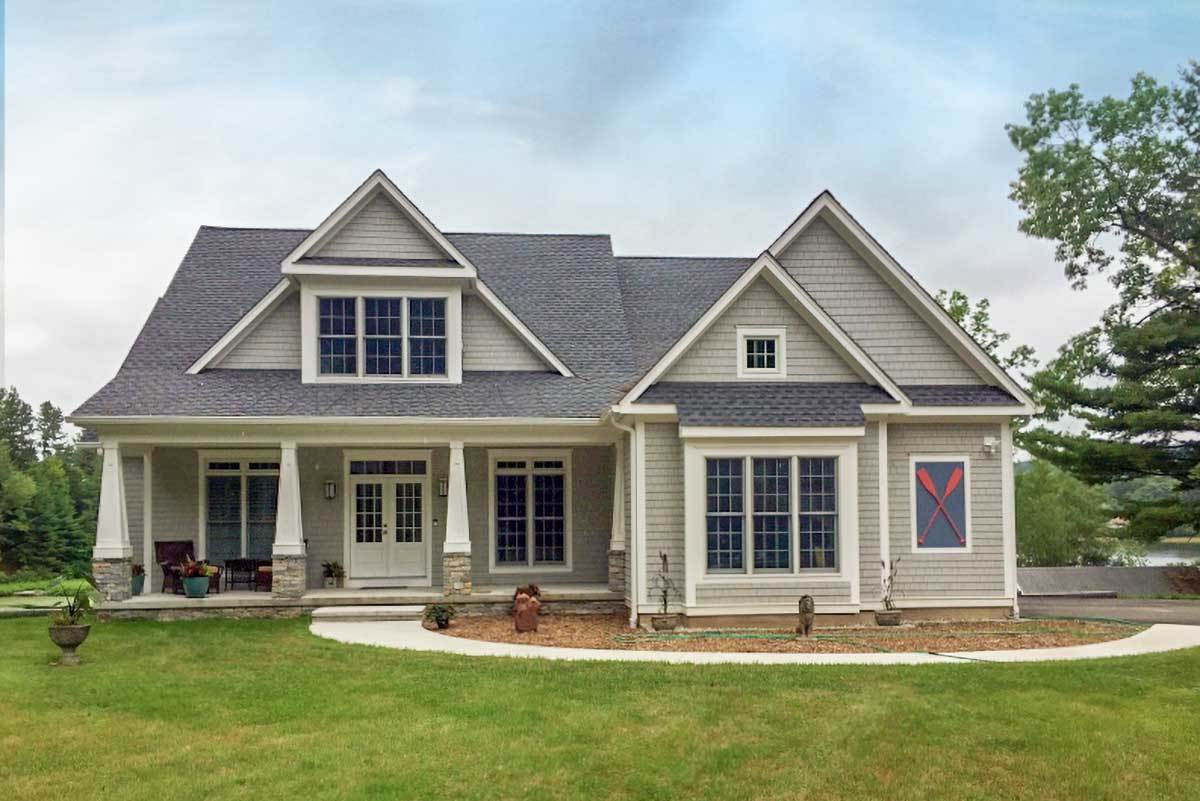 4-Bedroom Two-Story Craftsman Style Home with Double Garage