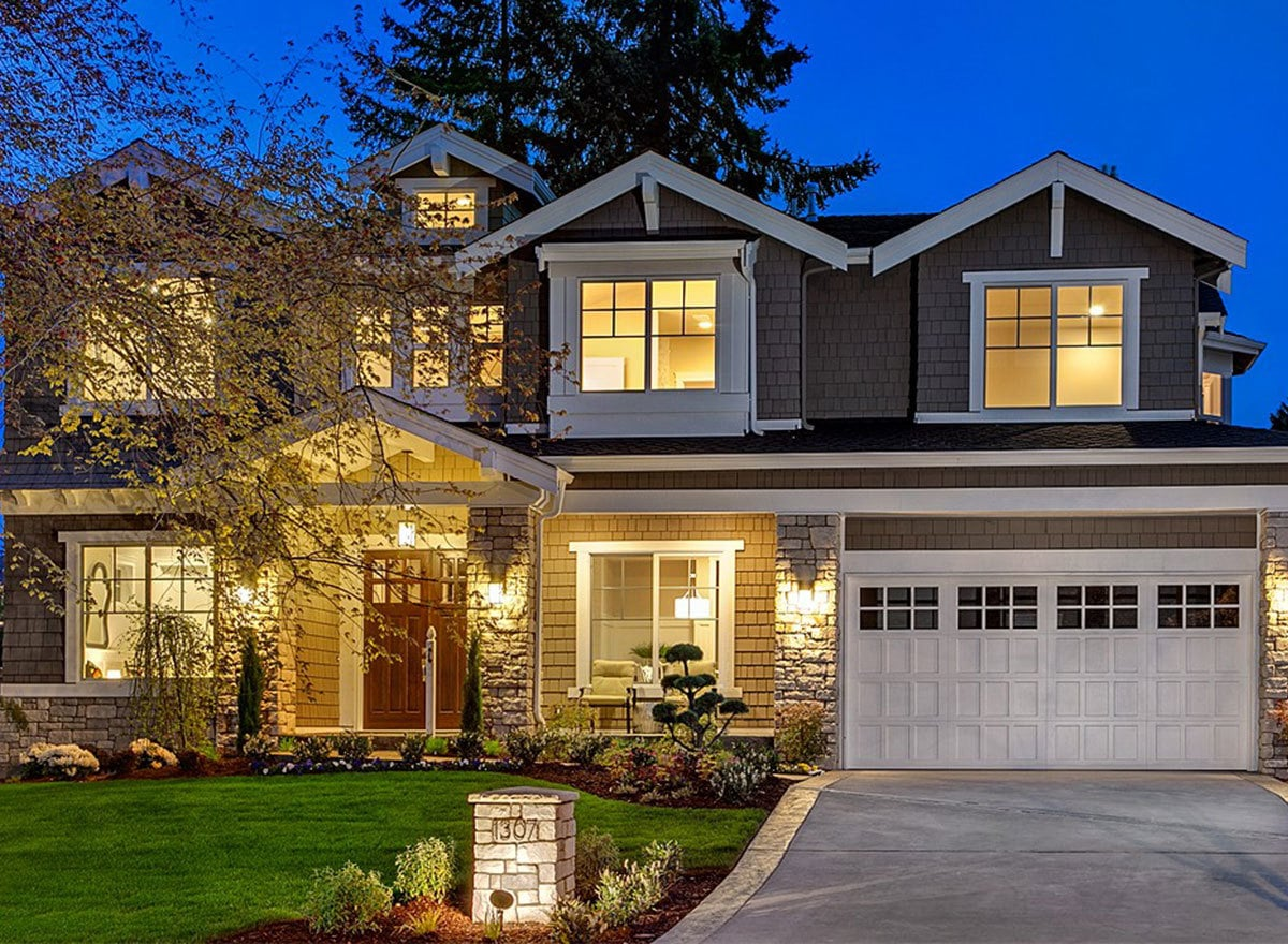 6-Bedroom Two-Story Craftsman Home with Bonus Room