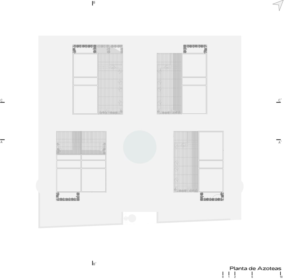 This is an illustration of the house's plan.