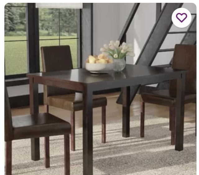 Andover Mills™ Elderton Dining Table & Reviews   Wayfair
