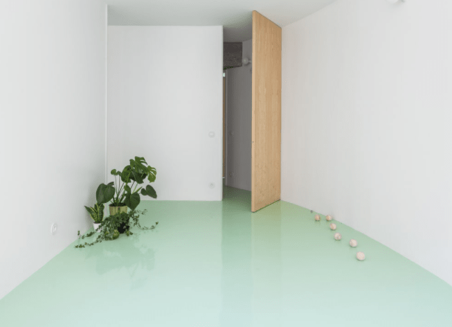 Apartment on a Mint Floor by fala