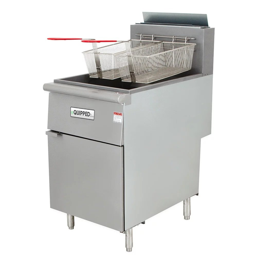 eQuipped F5-N Gas Fryer