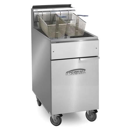 Imperial 40 lb. Open Pot Gas Floor Fryer