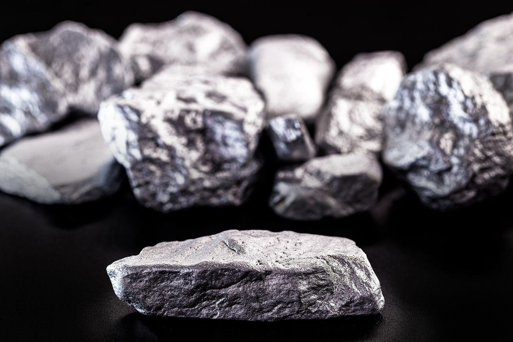 A close look at pieces of Magnesium stones.