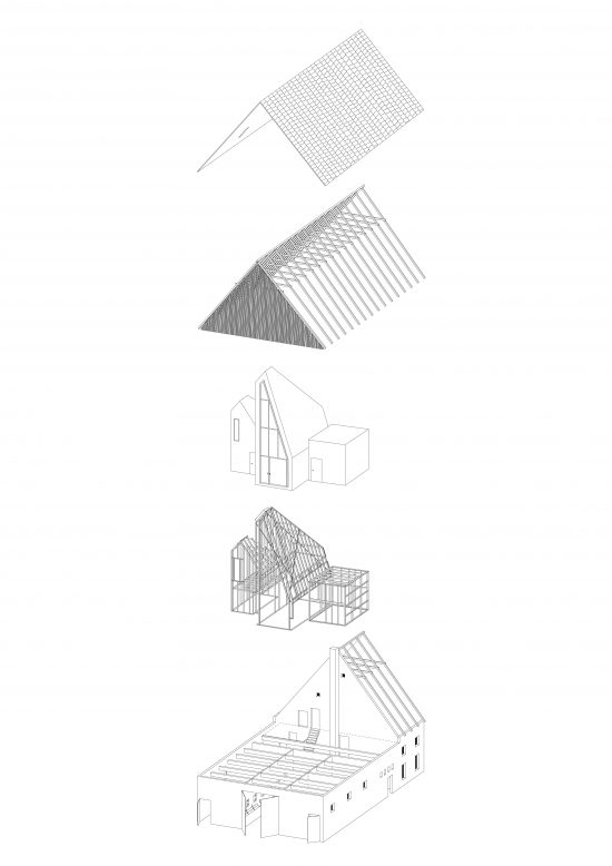 This is an illustration of the house's parts and components.