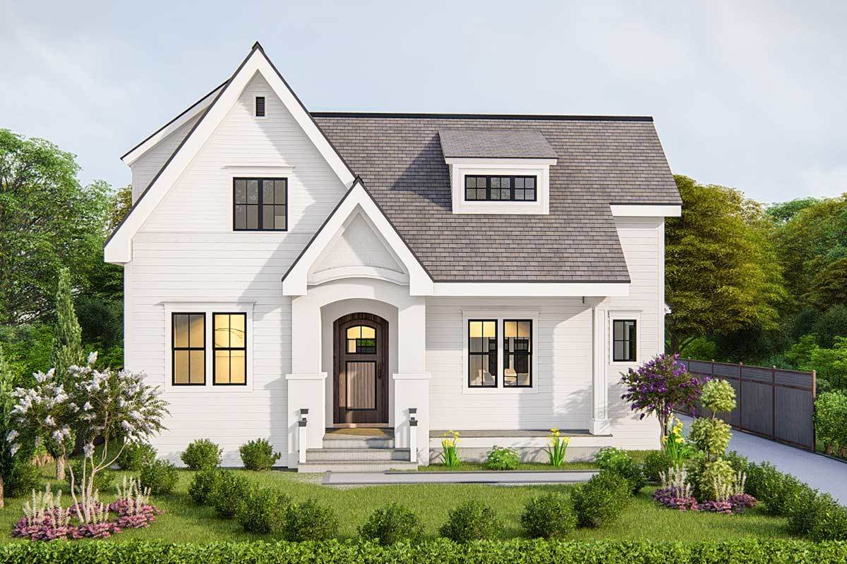 Two-Story 4-Bedroom Traditional Cottage with Detached Double Garage and Bonus Room