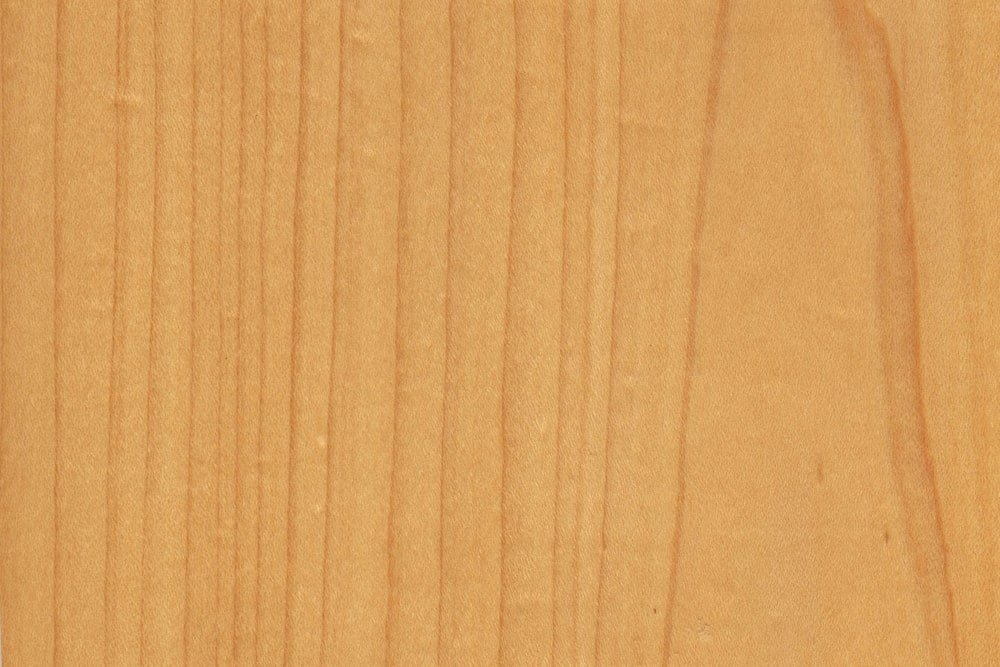 A close look at the hard maple wood grains.