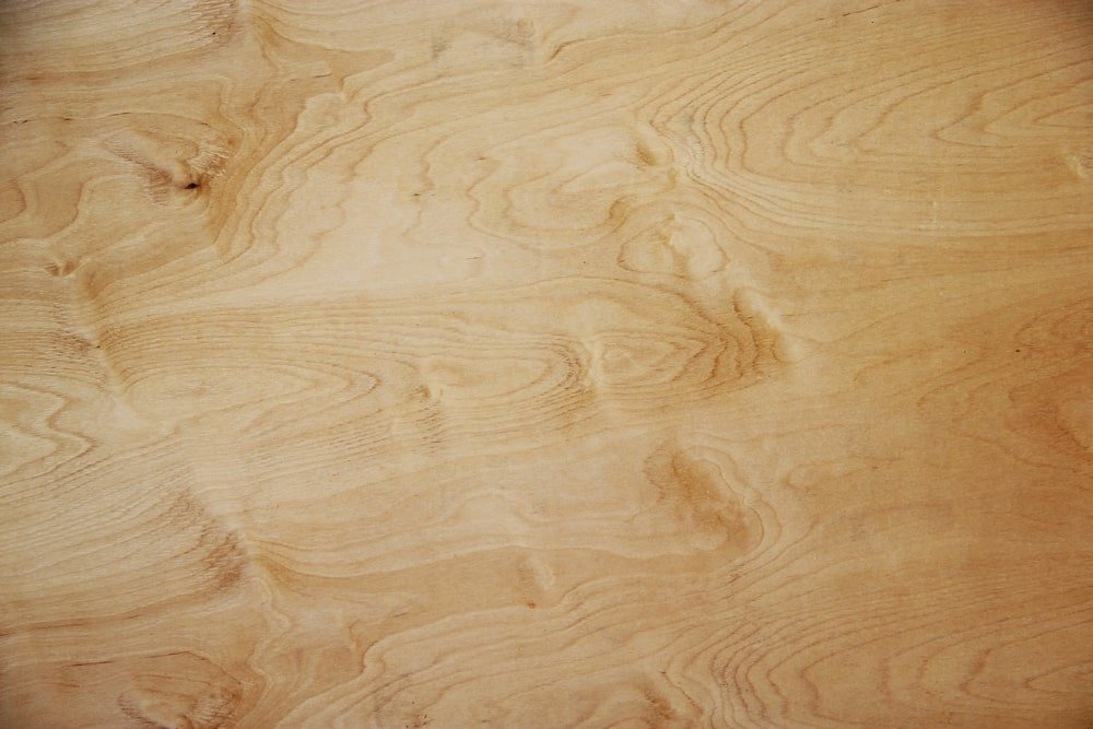 A close look at the downy birch wood grains.