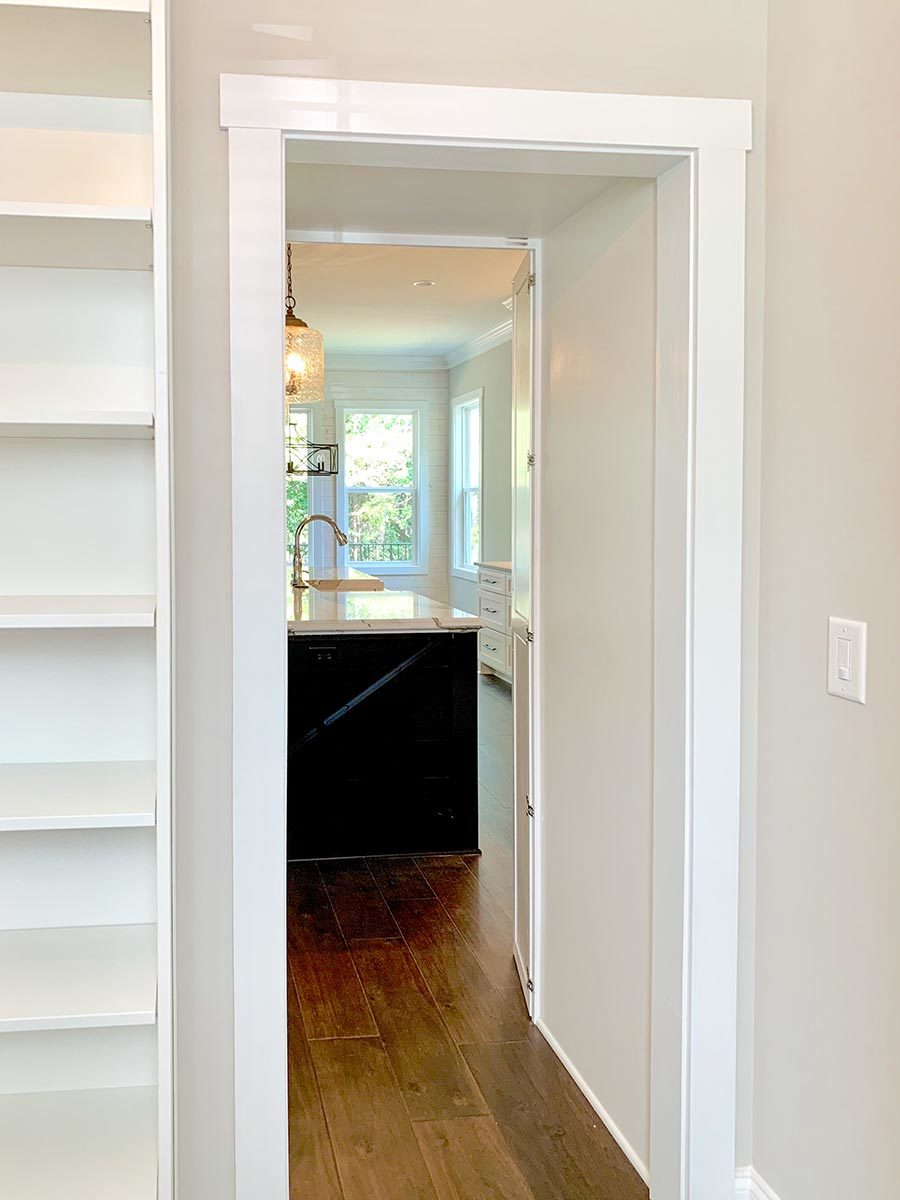 Here's what it looks like when you open the cabinet doors.
