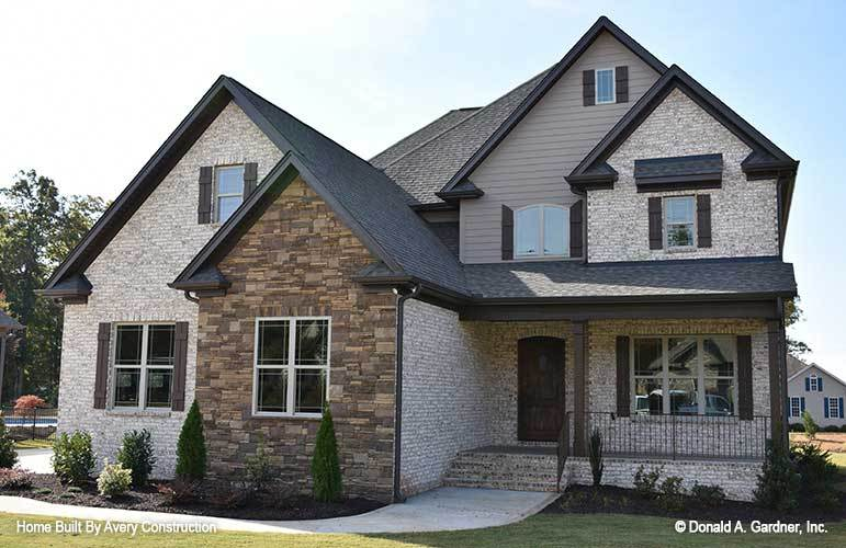 5-Bedroom Three-Story The Hedlund Craftsman Home for a Narrow Lot with Bonus Room