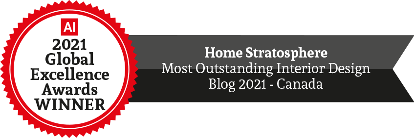 Award 2021 Outstanding Interior Design Blog