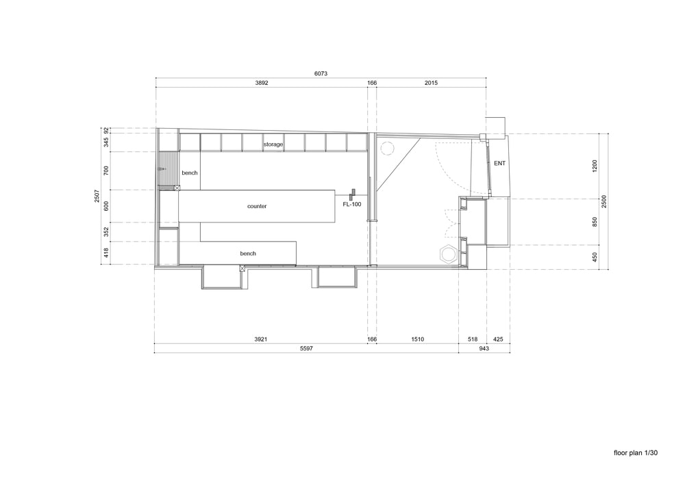 This is an illustration of the store's floor plan.