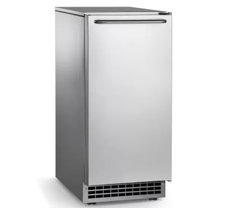 A gourmet ice machine from compact appliance.