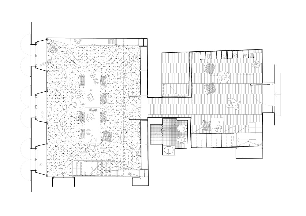 This is an illustration of the law firm's floor plan.