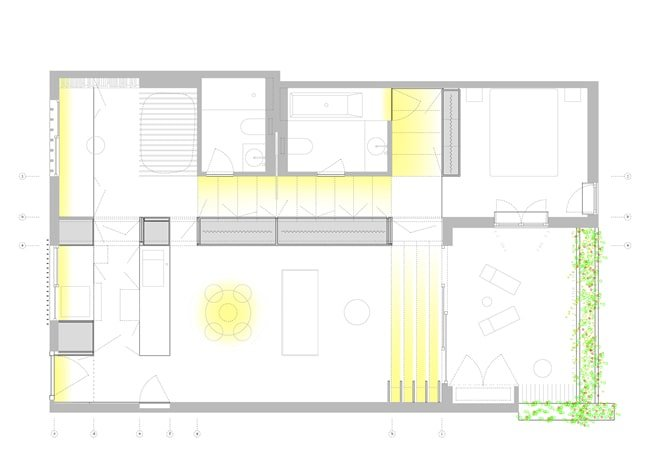 This is an illustration of the floor plan.