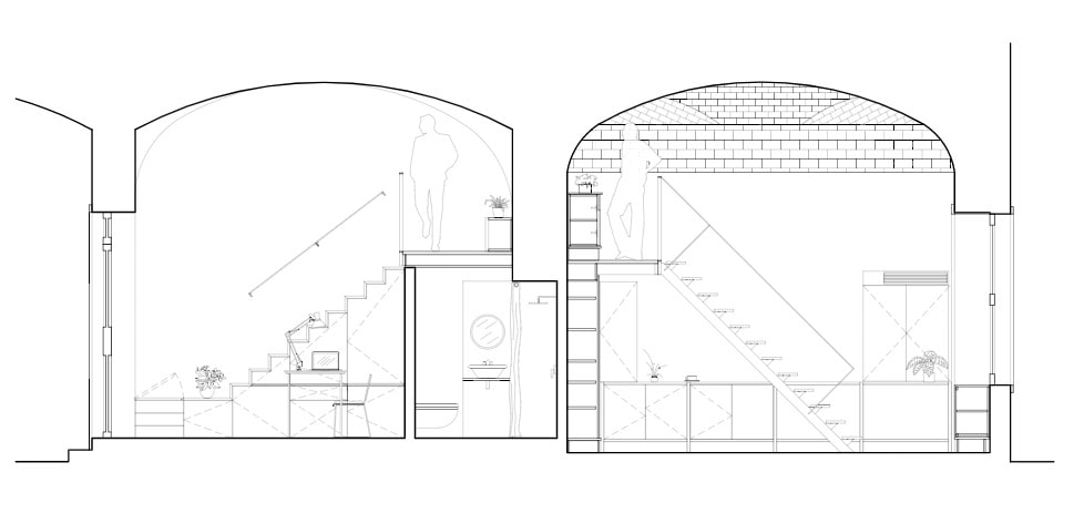 This is an illustration of the law firm's cross section elevation.