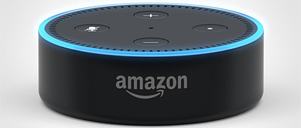 A smart speaker by Amazon.