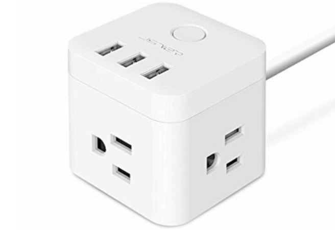 The Smart Cube Power Strip from VIVEMJ.
