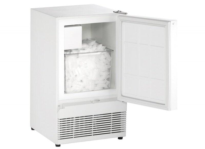 A freestanding ice maker from Wayfair.