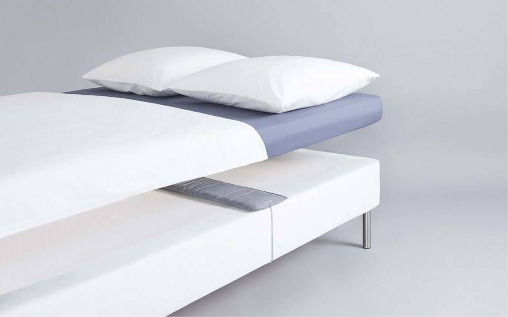A smart sleep tracking mat from Withings.