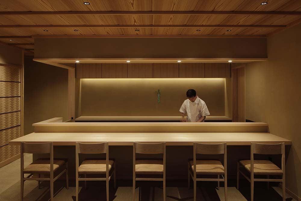 Japanese cuisine Tokiwa by Fumihiko Sano Studio