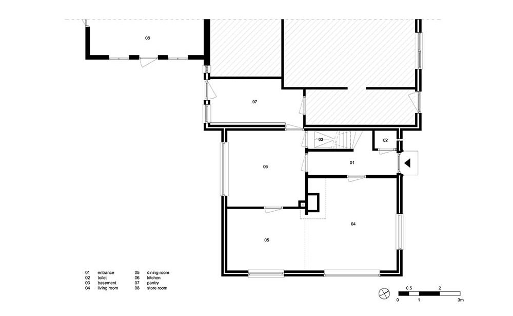 This is an illustration of the house layout.