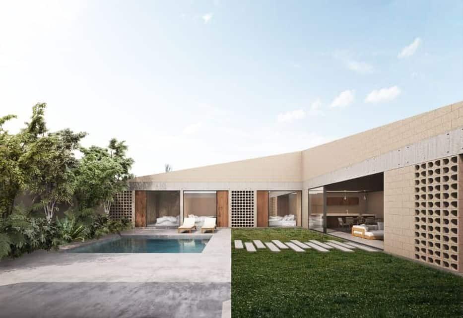Atlatlahucan House by TALC