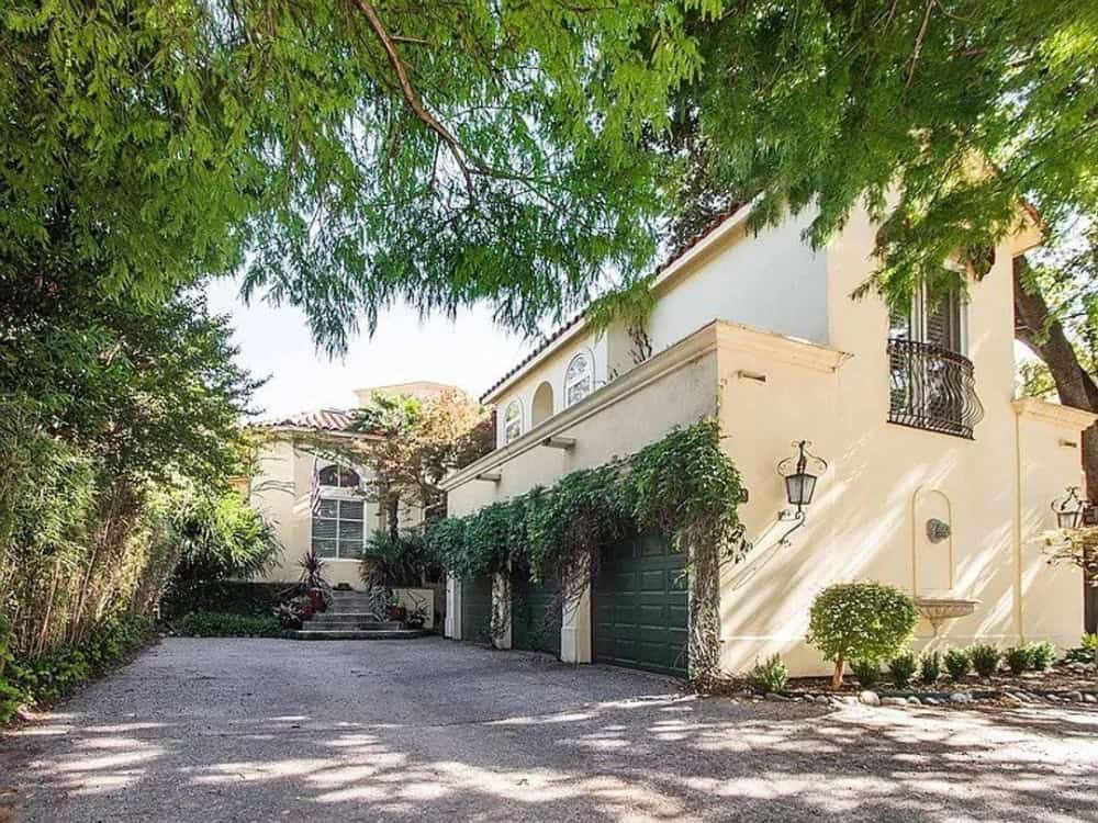 Two-Story 4-Bedroom Mediterranean Home for a Narrow Lot with In-Law Suite