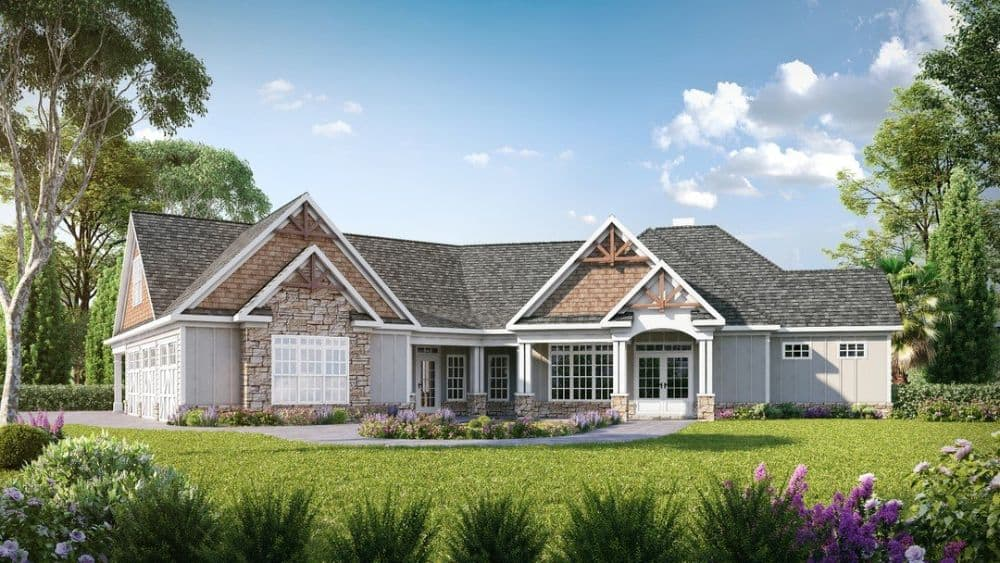 Two-Story 4-Bedroom Traditional-Style Home with In-Law Suite
