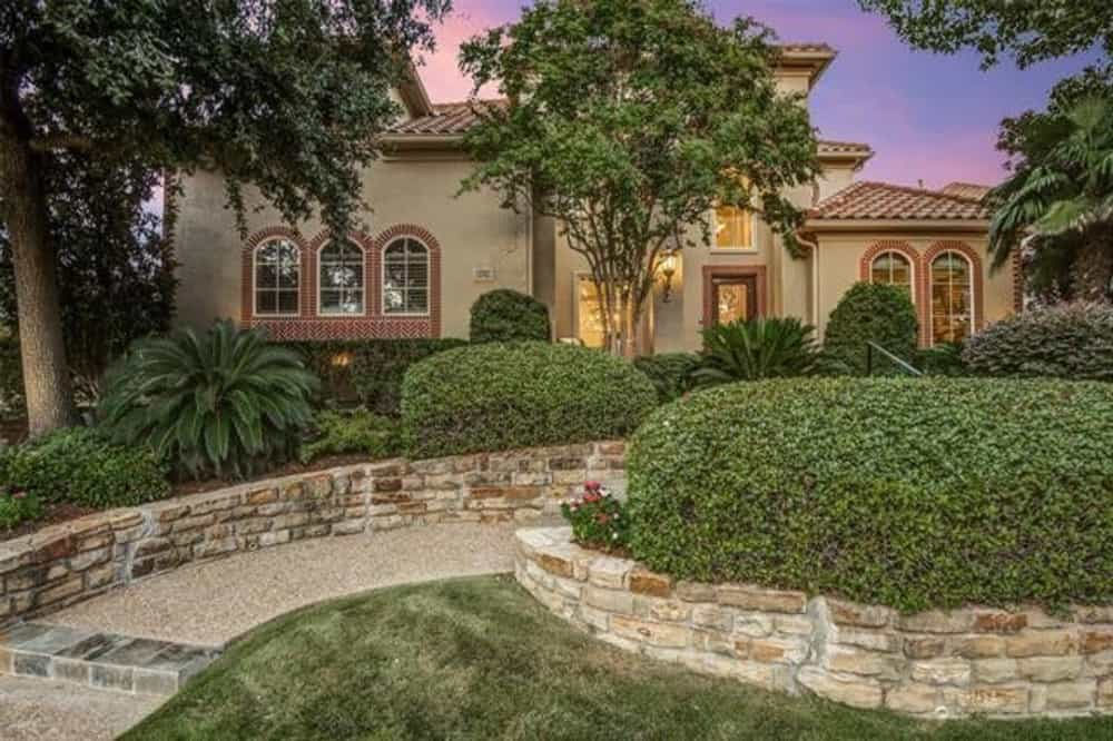 Two-Story 3-Bedroom Mediterranean Home for a Narrow Lot with Bonus Room