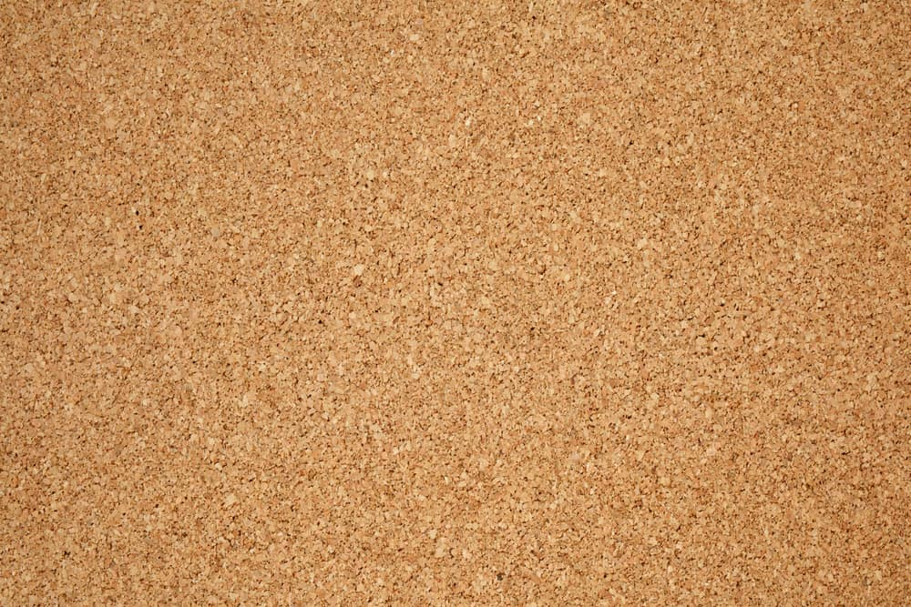 This is a close look at a panel of cork insulation.