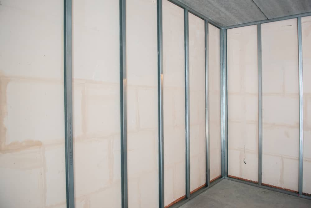 This is a close look at Soundproof Drywall panels.
