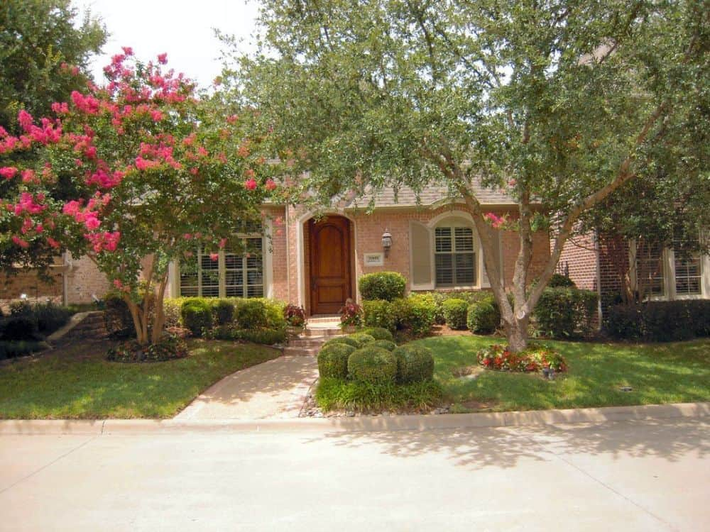 2-Bedroom Single-Story Southern Ranch for a Narrow Lot with Rear-Entry Garage