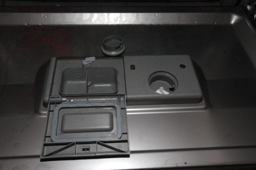 danby dishwasher powder receptacle