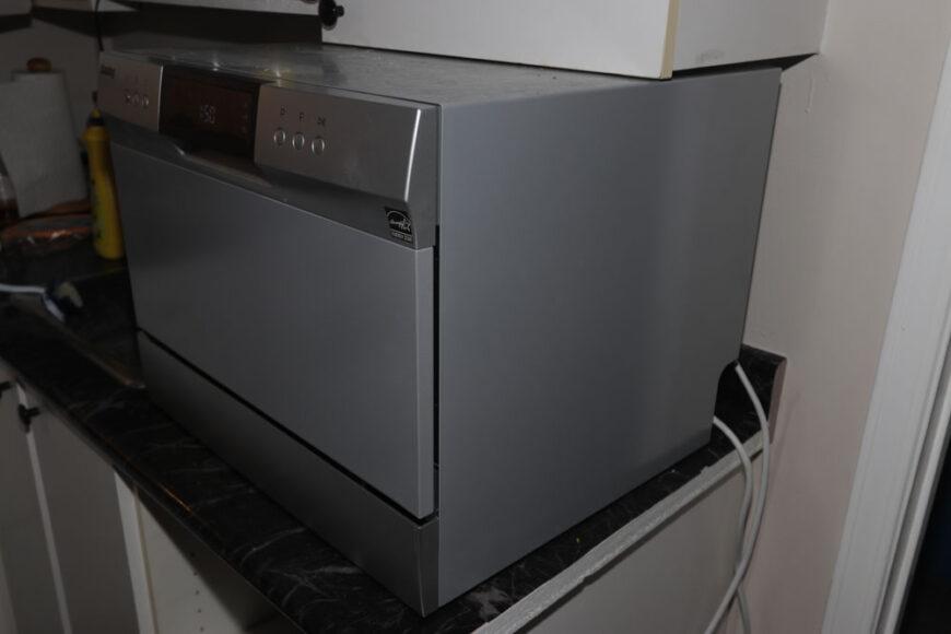 danby dishwasher side