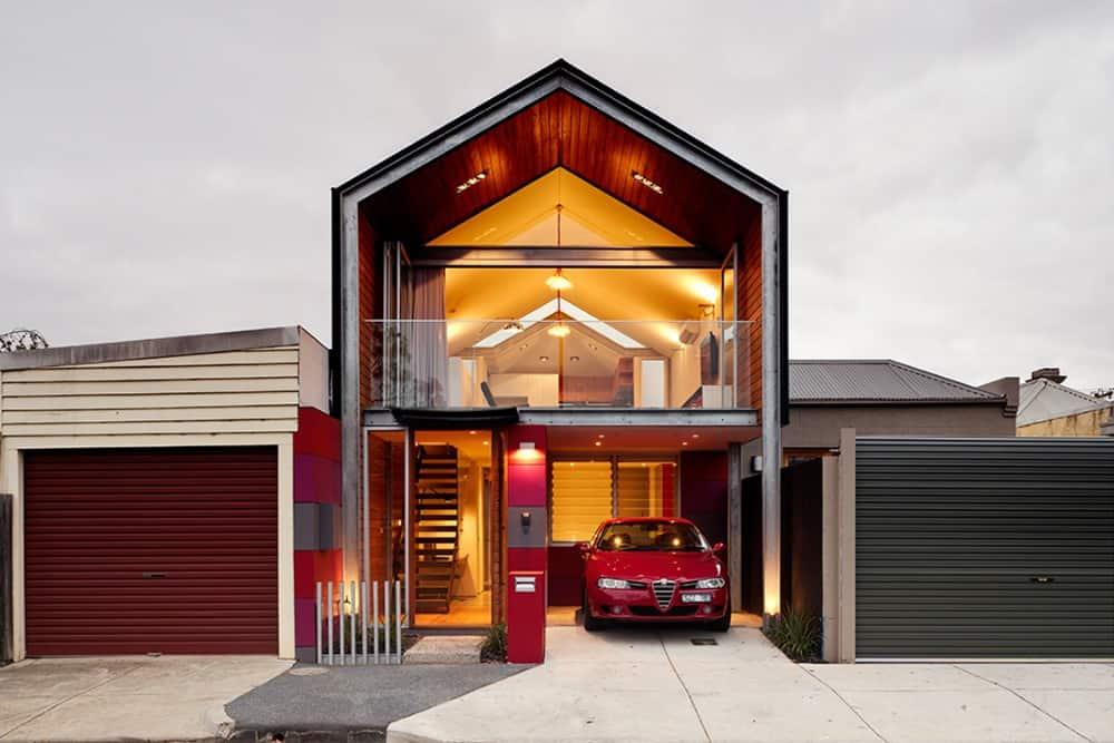 Gold Street House por Kavellaris Urban Design