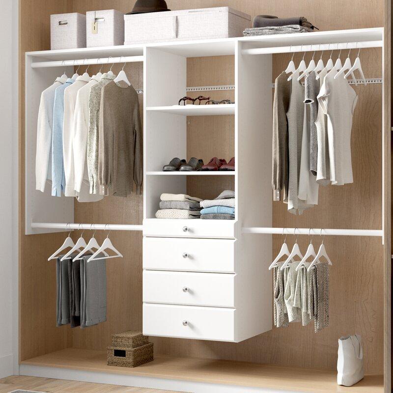 Closet system by Wayfair