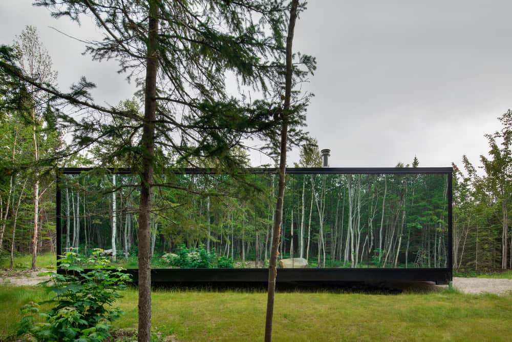 Forest Glamp by Bourgeois / Lechasseur architects