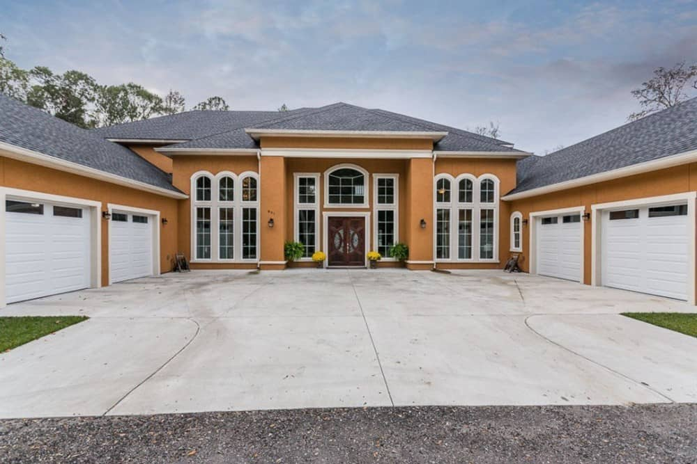 4-Bedroom Two-Story European Style Home