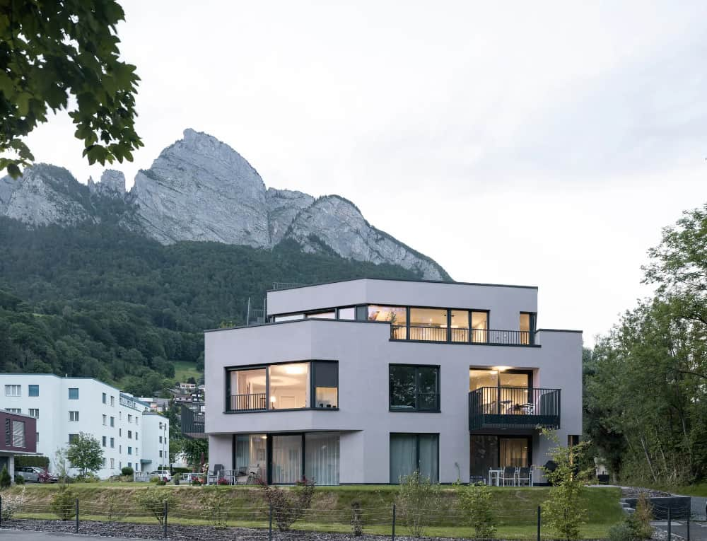 Residenz Eisenerz por Apropos Architects