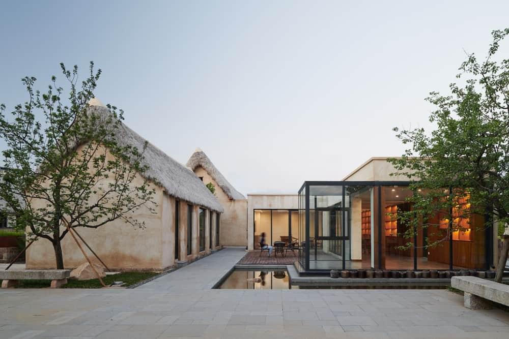 Protección y regeneración de Seaweed House Village - Diseño de reconstrucción del Seaweed Bay Health Resort por Greyspace Architects