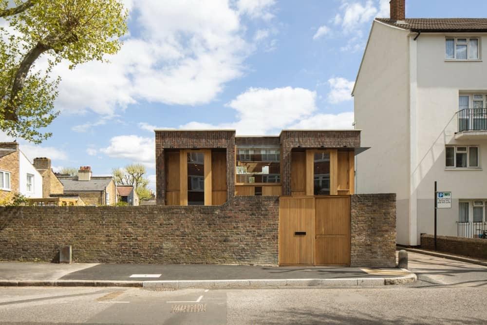 Southwark Brick House by Satish Jassal Architects